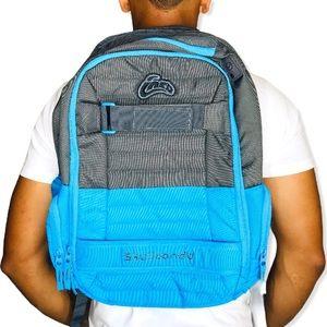 Skullcandy Ink'd Skateboard Backpack Laptop Sleeve